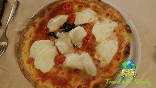 Pizza Margherita - Nove, Italy