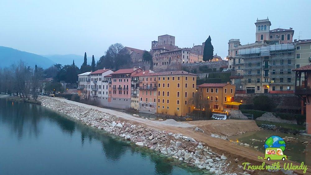 Streets of Bassano del Grappa - Nove, Italy