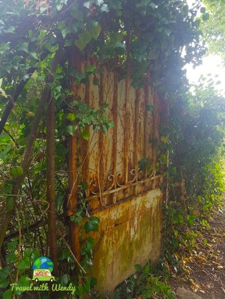 Lovely old gates - small towns of France