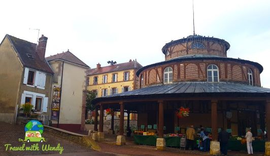 Round House and market
