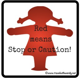 ©TWW Stop sign girl