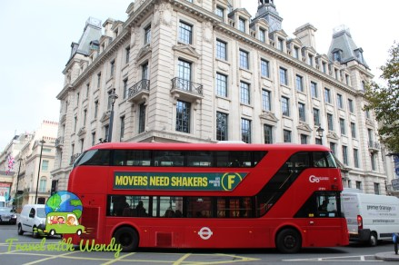 Big Red Bus in London