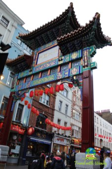 China Town gate - London
