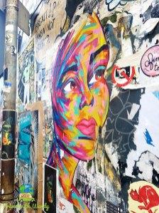 Gorgeous paste - on the walls of Brick Lane