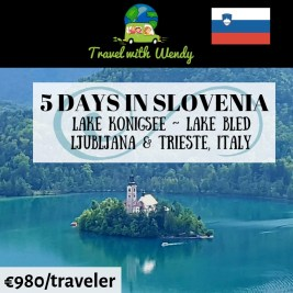 5 days in Slovenia - destination tours