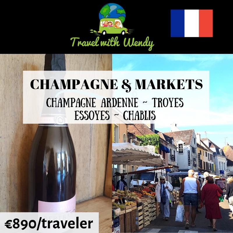 Champagne & Markets - destination tours