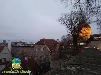 Old buildings of Tallinn