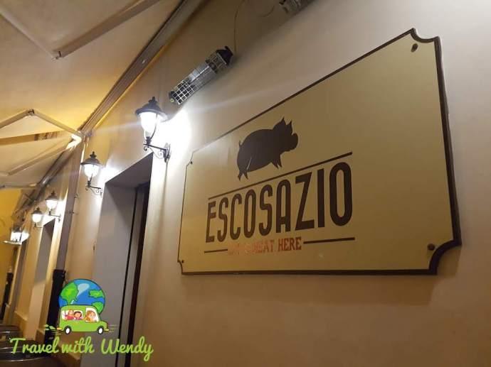 Let's Meat HERE - Escosazio