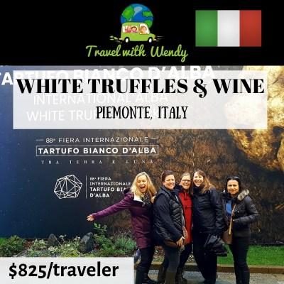 White Truffles & Wine