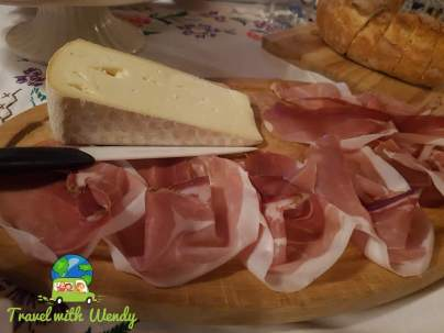 Proscuitto and cheese - Italy