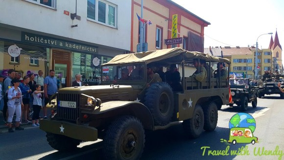 Parade trucks