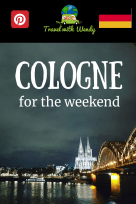 Cologne for the weekend PIN