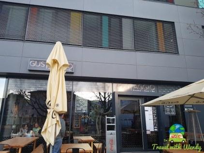 Gustaggio's entrance in Sindelfingen - Stuttgart Eats