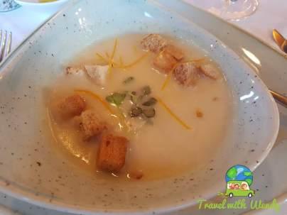 Spargel creme soup