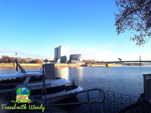 Rheinhausen Harbor - Cologne for the Weekend