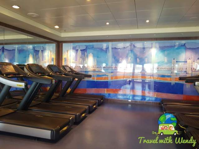 Treadmills - ugh - Cruise gym