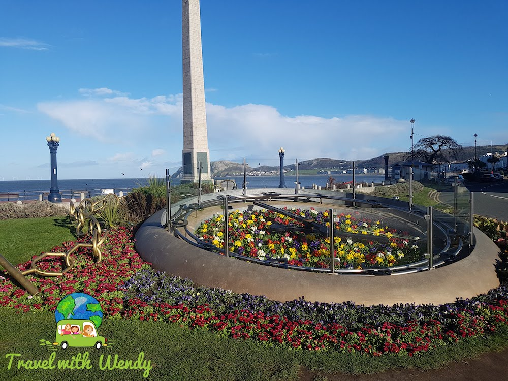 Big Clock along the Promenade - Weekend in Wales