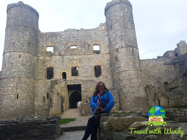 Can you see me shivering - Harlech Castle