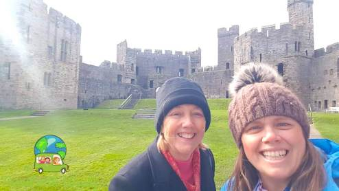 Cloudy with a chance of smiles - Castles Wales
