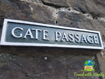 Gate Passage - Conwy