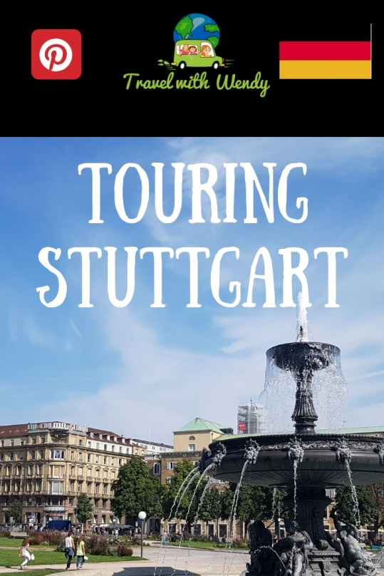 Touring Downtown Stuttgart