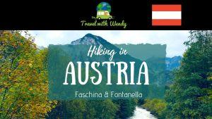 Hiking in Austria - Faschina and Fontanella