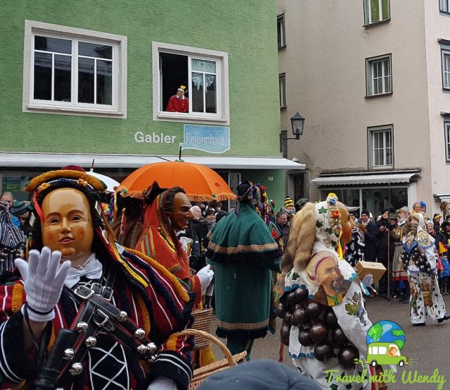 A kiss for luck fun costumes - Rottweil