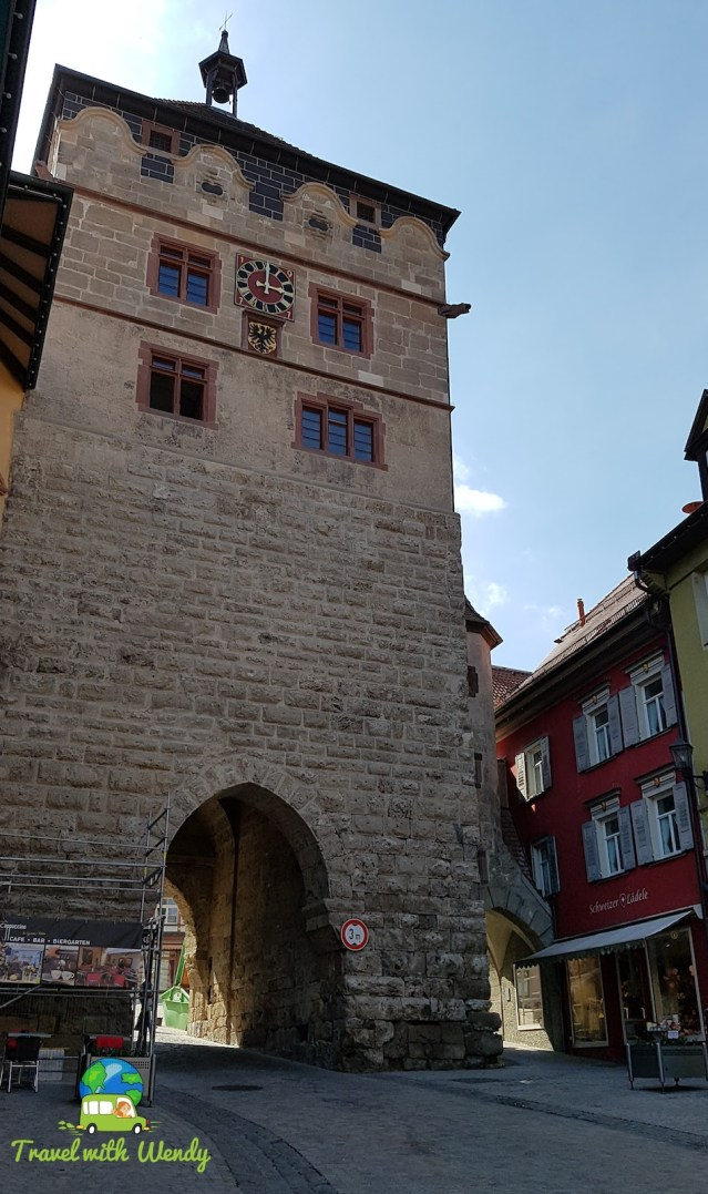 Roman gate to Rottweil