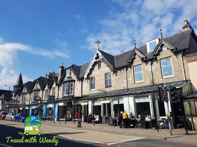 Main Street in Pitlochry