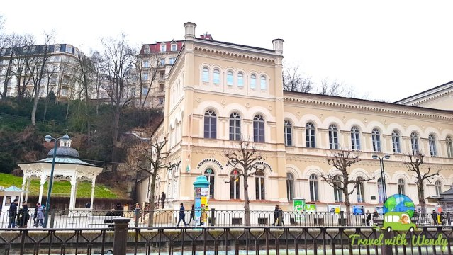 Walking the promenade of Karlovy Vary