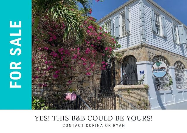 Sugar Apple Bnb For Sale - Christiansted, US Virgin Island