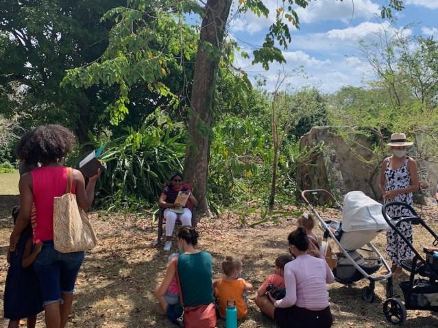 Story Time at USVI Botanical Gardens