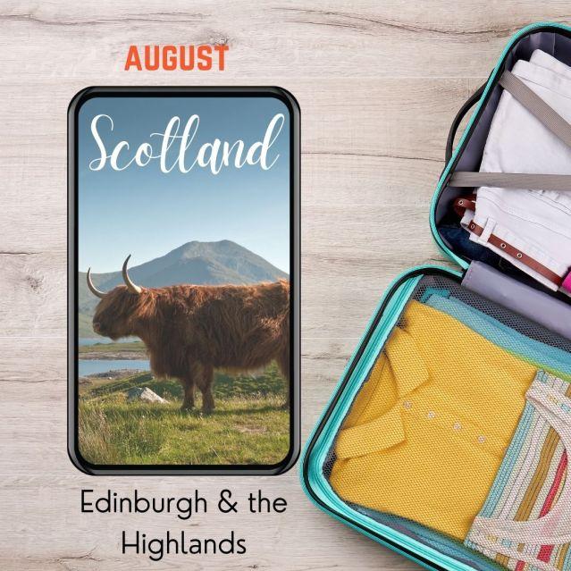 Scotland and Edinburg, Highlands