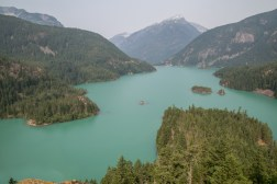 Diablo Lake, North Cascades Park, WA