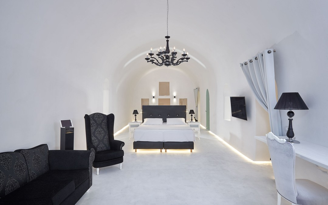 The Opera of Santorini is transformed into the definition of high-end hospitality