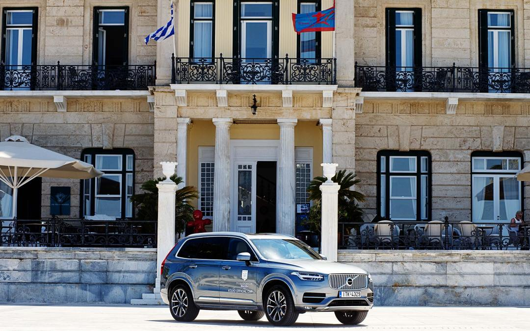 Poseidonion Grand Hotel and Volvo Car Hellas join forces on Spetses