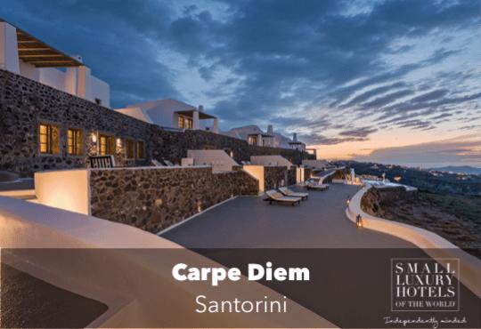 Carpe Diem, Santorini