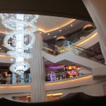 Norwegian Epic Atrium & Chandelier on TravelXena.com
