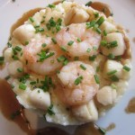 Cagneys-Shrimp-Scallops-Pan-Seared-Norwegian-Star TravelXena.com