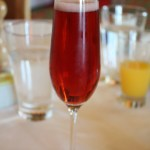 Kir Royale Le Bistro Jazz Brunch Norwegian Jade TravelXena.com