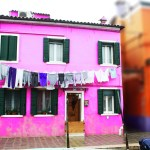 Burano-Italy-Bright-Pink-House-TravelXena