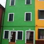 Burano-Italy-Green-and-Yellow-House-TravelXena