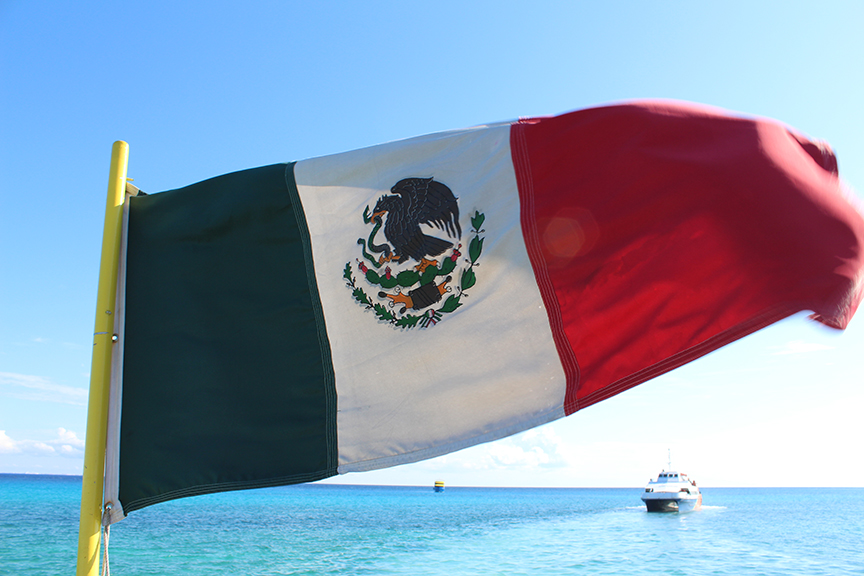 Mexican-Flag-on-Ferry-Travel-Xena