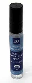 EO Peppermint Hand Cleaner spray small