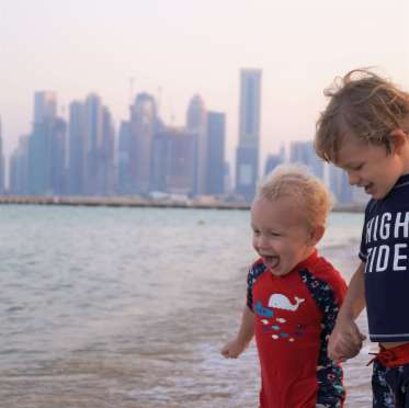 Doha stopover with kids - Intercontinental Doha