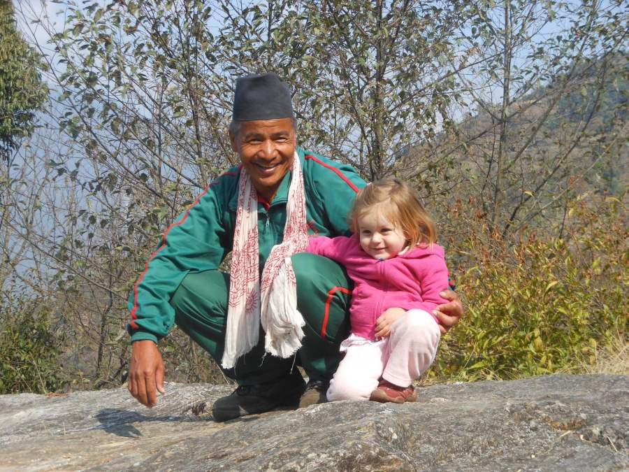 Nepal trekking with kids