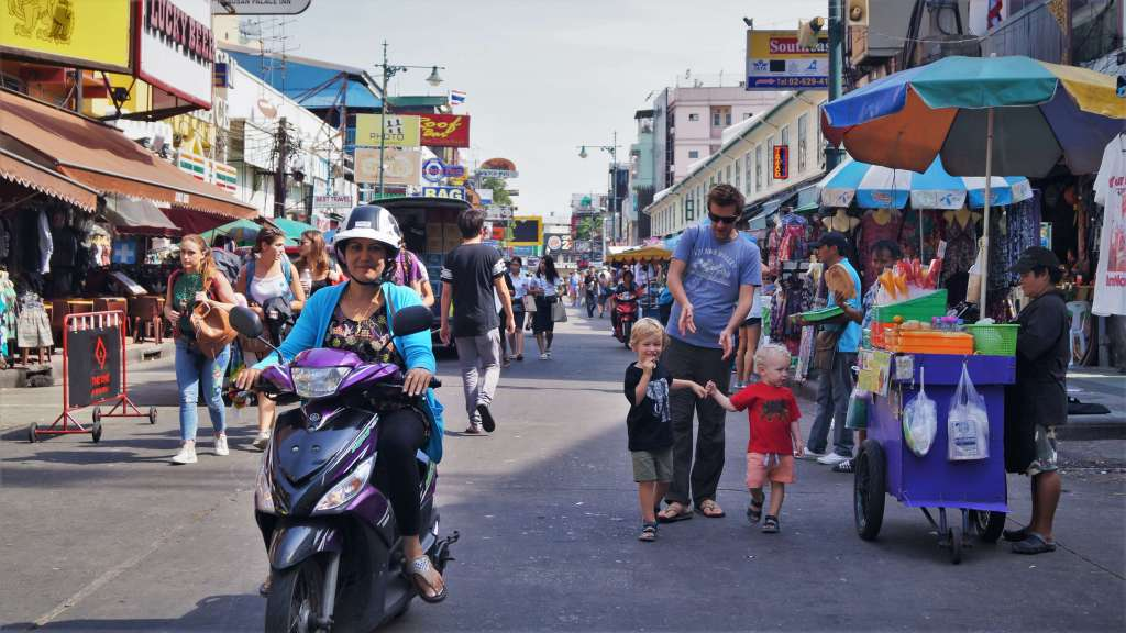 Bangkok with a toddler: a one day itinerary
