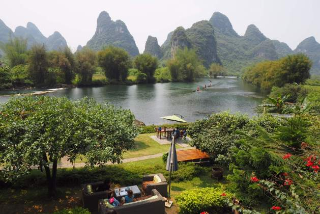 Yangshou with kids
