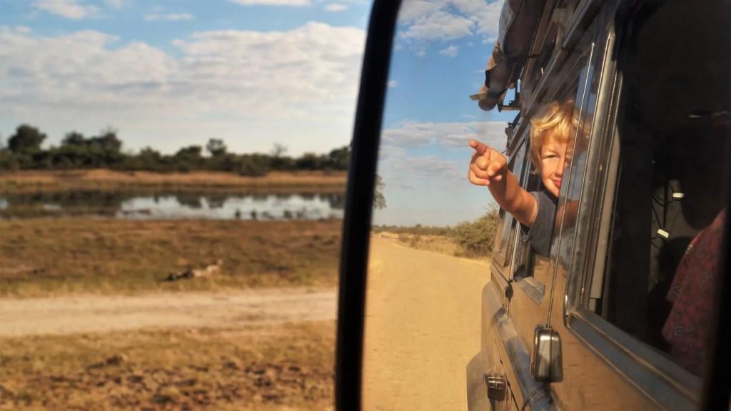 Safari with kids