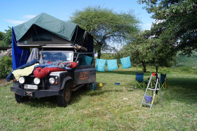 travelling Africa with kids